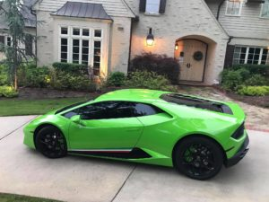 Huracan At Steves House